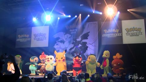 Großer Abschied mit vielen offiziellen Pokémon-Kostümen der vergangenen Pokémon Days