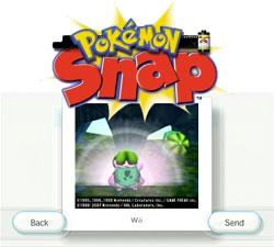 Bild: Pokémon-Snap-Logo außerhalb Japans und Screenshot