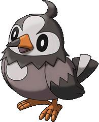 Bild: Artwork zu Staralili aus Pokémon Ranger Batonāji