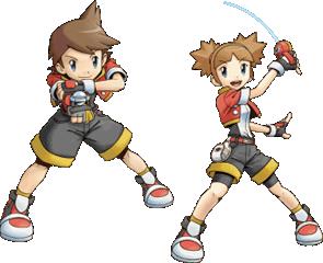 Bild: Artwork der Protagonisten aus Pokémon Ranger Batonāji