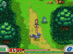 Bild: Screenshot aus Pokémon Ranger Batonāji (2)