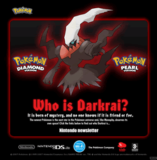 Bild: Darkrai-Microsite