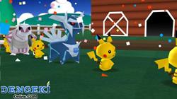 Bild: Screenshot aus Minna no Pokémon Bokujou