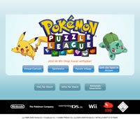 Bild: Microsite zu Pokémon Puzzle League