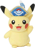 Bild: Plüsch Captain Pikachu
