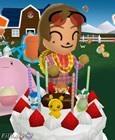 Bild: Yukari und die Geburtstagstorte
