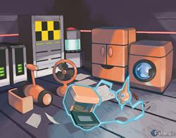 Bild: Artwork des Rotom-Raums