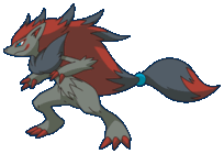 Zoroark (Anime-Artwork)