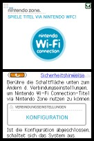 Einrichtung der Nintendo-WFC-Konfiguration, um an diesem Standort kostenlos online spielen zu können
