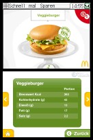 Veggieburger im Detail