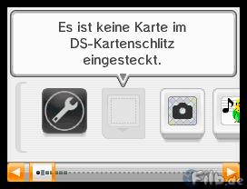 Pocket Monsters Black auf einem deutschen DSi