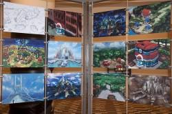 Concept Art von Game Freak zur Einall-Region in Pokémon Schwarz und Weiß
