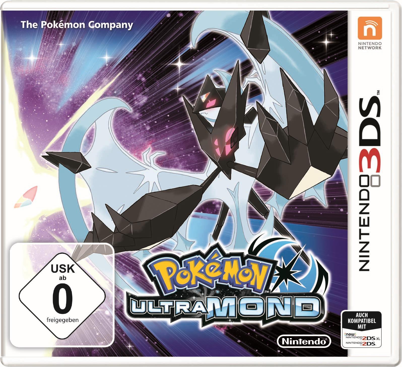 Erste Informationen Zu Pokémon Ultrasonne Und Ultramond