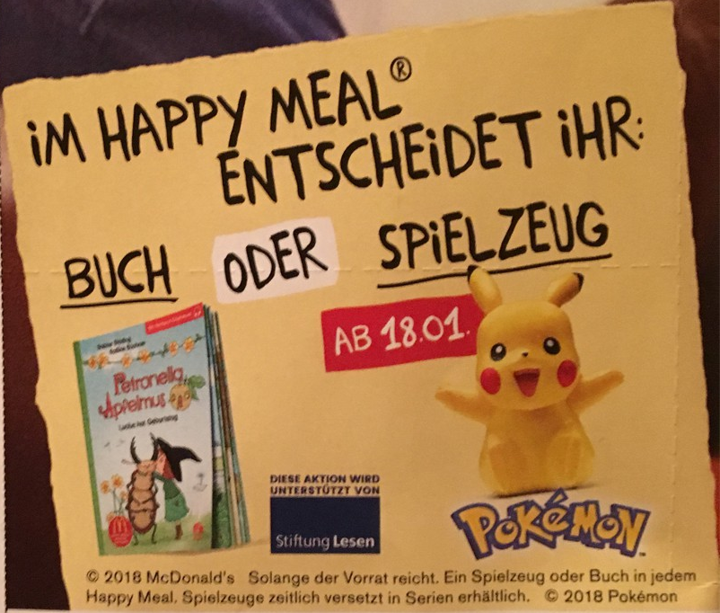 Pokémon Figuren Im Happy Meal Bei Mcdonalds Filbde News Filbboard