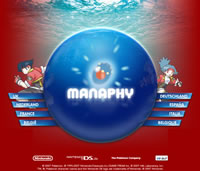 Bild: Screenshot der Manaphy-Microsite von Nintendo of Europe