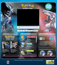 Bild: Screenshot von Pokemon.com zum Event-Webcast