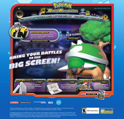 Bild: Screenshot der PBR-Website bei Pokémon-Games.com