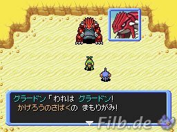 Bild: Groudon in FND2