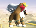 Bild: Entei in Super Smash Bros. Brawl