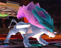 Bild: Suicune in Super Smash Bros. Brawl