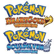Bild: Englische Logos von Pokémon HeartGold/SoulSilver