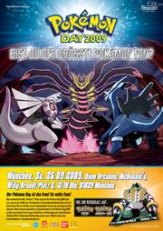 Bild: Werbeposter Pokémon Day München