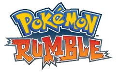 Bild: Englisches Logo Pokémon Rumble