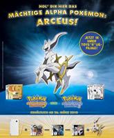 "Poster zur Arceus-Aktion bei Toys""R""Us"