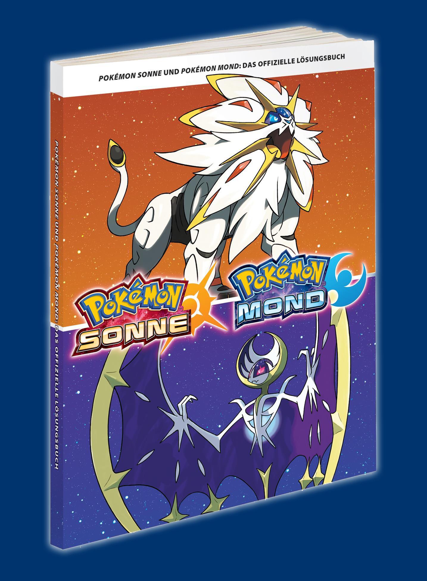 18882 Pokémon Sonne Und Mond Fan Edition Lösungsbuch Vo